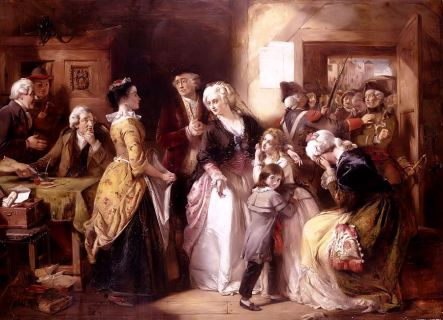 Arrest Of Louis XVI & amp;  His Family At House Of Registrar of passpo